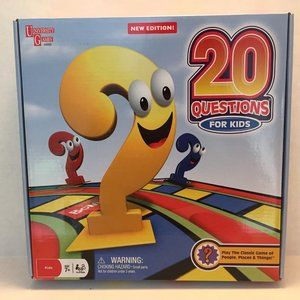 20 Questions For Kids Board Game University Games